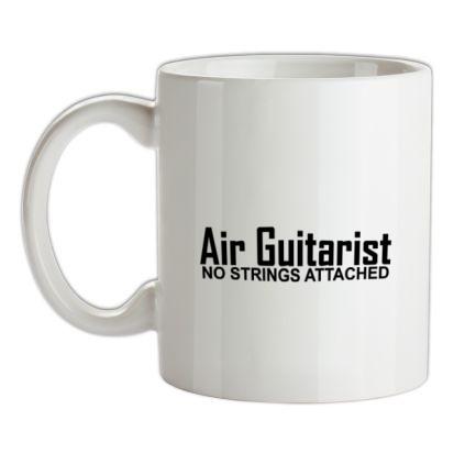 CHEAP Air Guitarist – No Strings attached mug. 24074188347 – Novelty T-Shirts