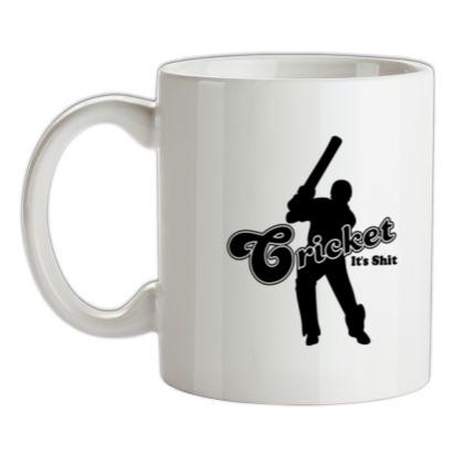 CHEAP Cricket It's Shit mug. 24074189499 – Novelty T-Shirts