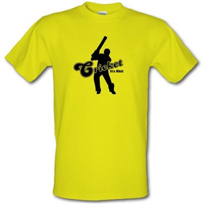 CHEAP Cricket It's Shit male t-shirt. 721694292 – Novelty T-Shirts