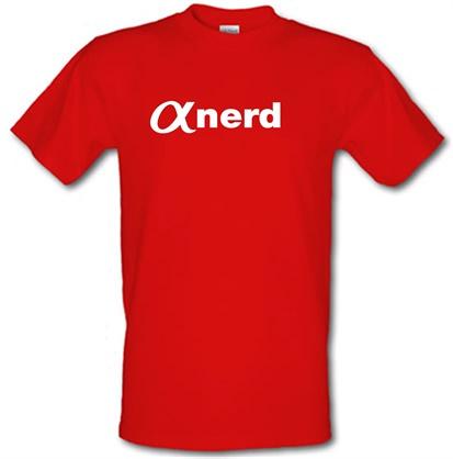 CHEAP Alpha Nerd male t-shirt. 722373326 – Novelty T-Shirts