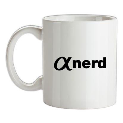 CHEAP Alpha Nerd mug. 24074188383 – Novelty T-Shirts