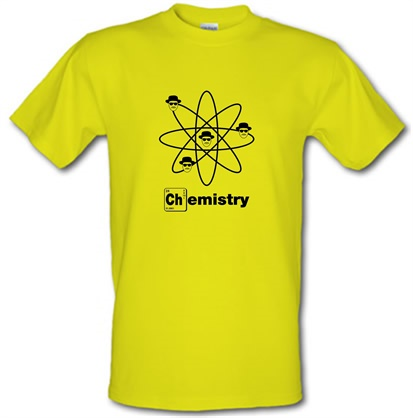 CHEAP Breaking Bad – Chemistry male t-shirt. 722373330 – Novelty T-Shirts