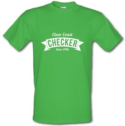 CHEAP Clear Coast Checker male t-shirt. 722373332 – Novelty T-Shirts