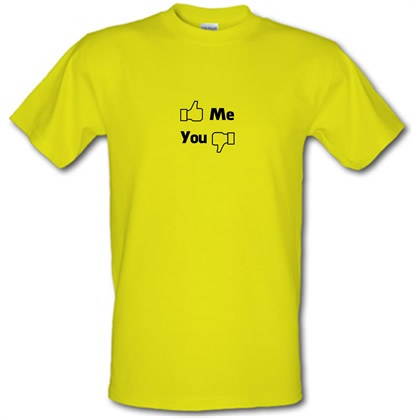 CHEAP Me You Facebook male t-shirt. 722373340 – Novelty T-Shirts