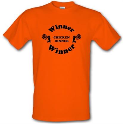CHEAP Winner Winner Chicken Dinner male t-shirt. 722373354 – Novelty T-Shirts