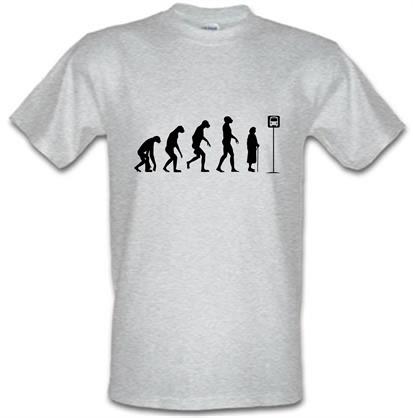 CHEAP Evolution – Bus Stop male t-shirt. 728991224 – Novelty T-Shirts