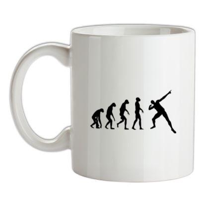 CHEAP Evolution – Usain Bolt mug. 24074190249 – Novelty T-Shirts