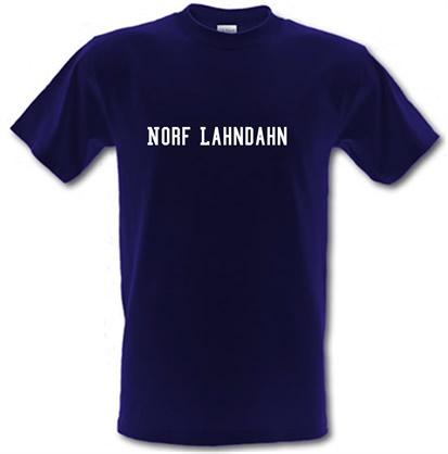 CHEAP Norf Lahndahn male t-shirt. 730227880 – Novelty T-Shirts