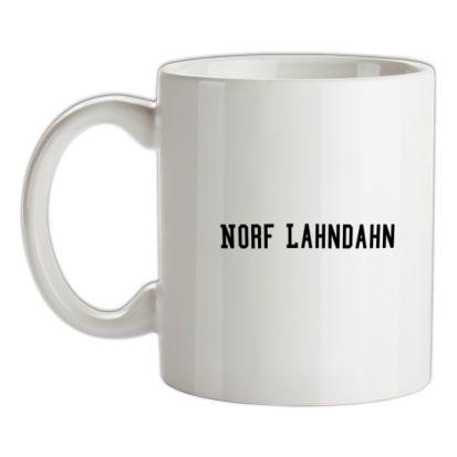 CHEAP Norf Lahndahn mug. 24074193331 – Novelty T-Shirts