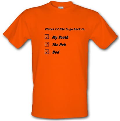 CHEAP places id like to go back to male t-shirt. 730227884 – Novelty T-Shirts