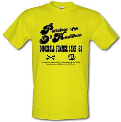 CHEAP Dodgeball Summer Camp male t-shirt. 730227850 – Novelty T-Shirts