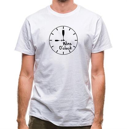 CHEAP Wine O'Clock classic fit. 25414498983 – Novelty T-Shirts