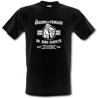 CHEAP Dr. Shultz Amazing And Painless male t-shirt. 744525866 – Novelty T-Shirts