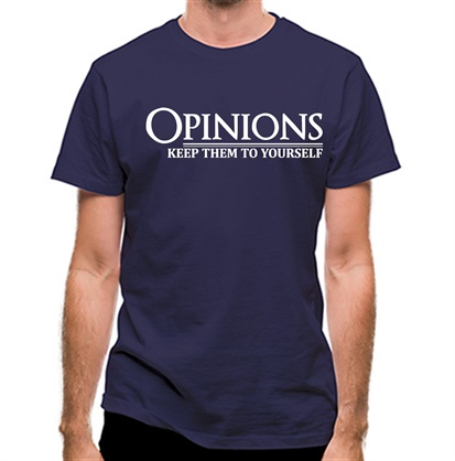 CHEAP Opinions-Keep Them to Yourself classic fit. 25414496393 – Novelty T-Shirts