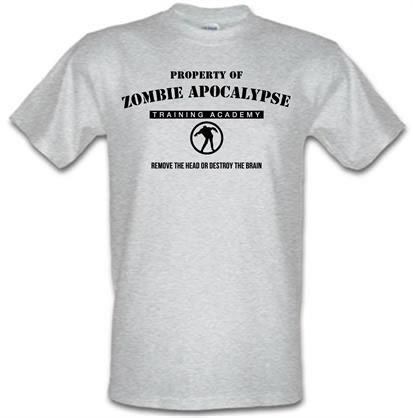 CHEAP zombie apocalypse training academy male t-shirt. 744231572 – Novelty T-Shirts