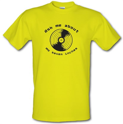 CHEAP Ask me about my 7inches male t-shirt. 745474302 – Novelty T-Shirts