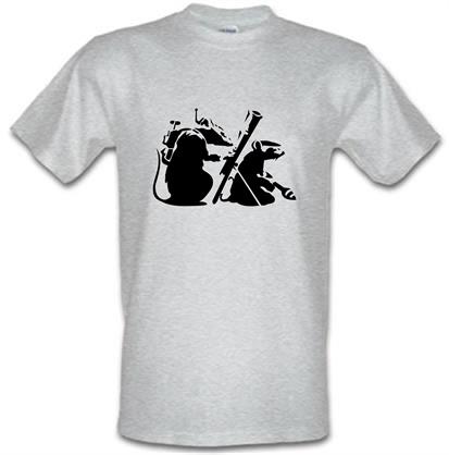 CHEAP Banksy – guerilla rats male t-shirt. 745614010 – Novelty T-Shirts