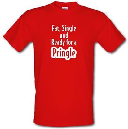 CHEAP fat single and ready for a pringle male t-shirt. 745614022 – Novelty T-Shirts