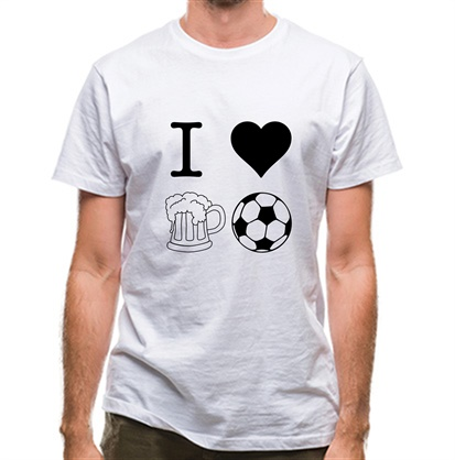 CHEAP I Heart Beer and Football classic fit. 25414493885 – Novelty T-Shirts