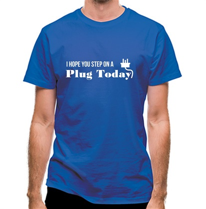 CHEAP I hope you step on a plug today classic fit. 25414493909 – Novelty T-Shirts