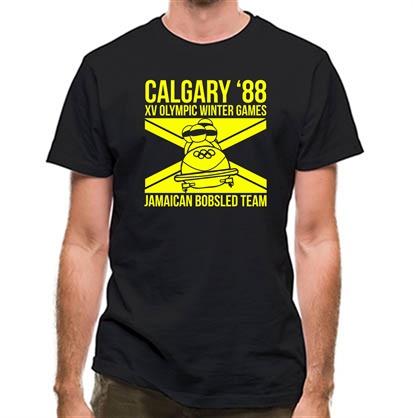 CHEAP Calgary 88 Jamaican Bobsleigh Team classic fit. 25414491159 – Novelty T-Shirts