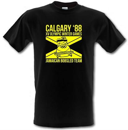 CHEAP Calgary 88 Jamaican Bobsleigh Team male t-shirt. 745832158 – Novelty T-Shirts