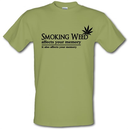 CHEAP smoking weed affects your memory it also affects your memory male t-shirt. 745832186 – Novelty T-Shirts