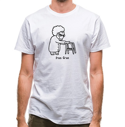 CHEAP Iron Gran classic fit. 25414494503 – Novelty T-Shirts