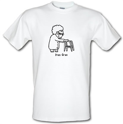 CHEAP Iron Gran male t-shirt. 746402774 – Novelty T-Shirts