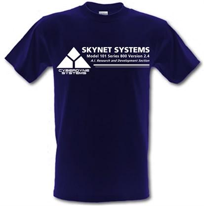 CHEAP Cyberdyne systems – Teminator male t-shirt. 746470430 – Novelty T-Shirts