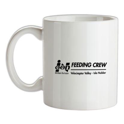 CHEAP ingen Feeding Crew – Jurassic Park mug. 24074192047 – Novelty T-Shirts