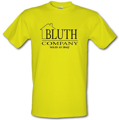 CHEAP Bluth Company – Arrested Development male t-shirt. 746470424 – Novelty T-Shirts