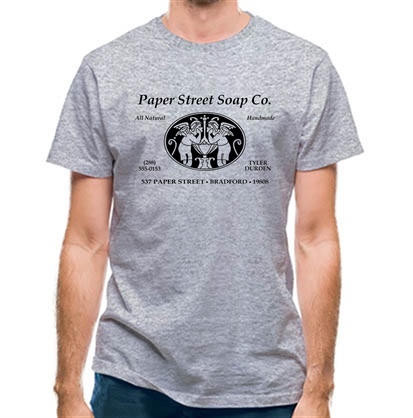 CHEAP Fight Club – Paper Street Soap Company classic fit. 25414492513 – Novelty T-Shirts