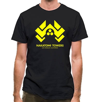 CHEAP Nakatomi Towers classic fit. 25414495935 – Novelty T-Shirts