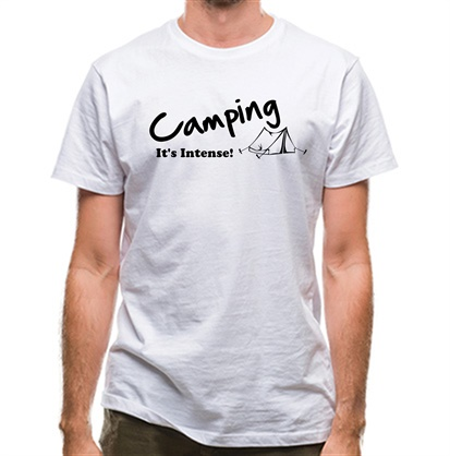 CHEAP Camping It's Intense! classic fit. 25414491183 – Novelty T-Shirts