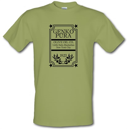 CHEAP The Godfather – Genko Pura Olive Oil Co. male t-shirt. 751205660 – Novelty T-Shirts