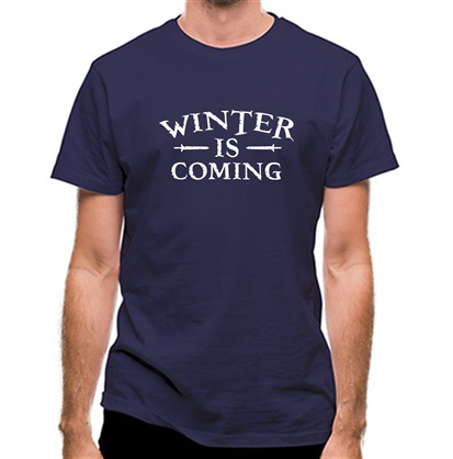 CHEAP Winter Is Coming classic fit. 25414499003 – Novelty T-Shirts