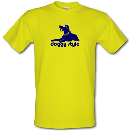 CHEAP Doggy style male t-shirt. 51135430 – Novelty T-Shirts