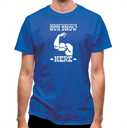 CHEAP Exchange tickets for the gun show here classic fit. 25414492363 – Novelty T-Shirts