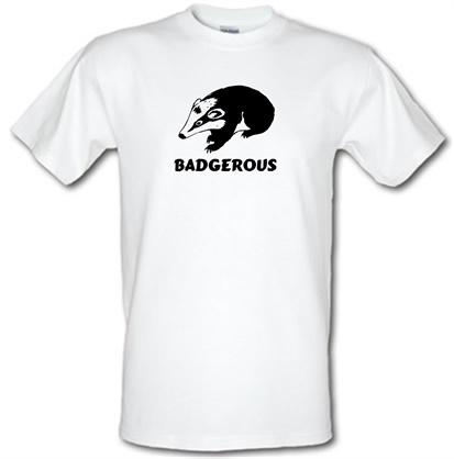 CHEAP Badgerous male t-shirt. 51135315 – Novelty T-Shirts