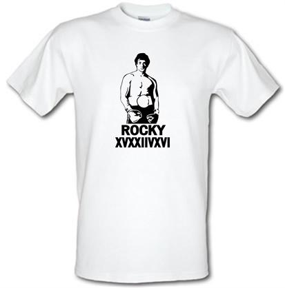 CHEAP Rocky XVXXIIVXVI male t-shirt. 51135810 – Novelty T-Shirts