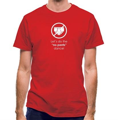 CHEAP Let's Do The No Pants Dance classic fit. 25414496139 – Novelty T-Shirts