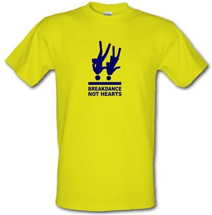 CHEAP Breakdance Not Hearts male t-shirt. 51570553 – Novelty T-Shirts