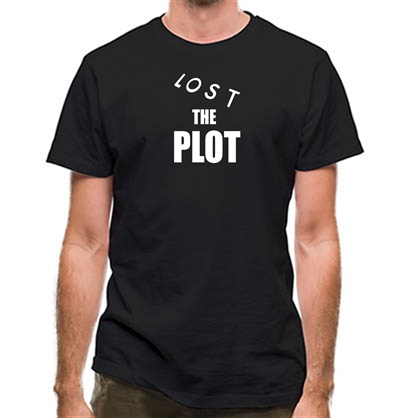 CHEAP Lost The Plot classic fit. 25414495365 – Novelty T-Shirts
