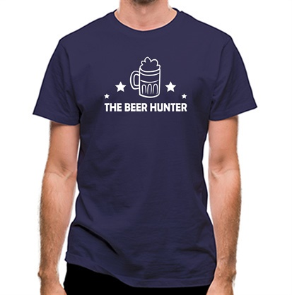CHEAP The Beer Hunter classic fit. 25414490757 – Novelty T-Shirts