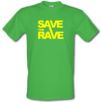 CHEAP Save The Rave male t-shirt. 51135821 – Novelty T-Shirts