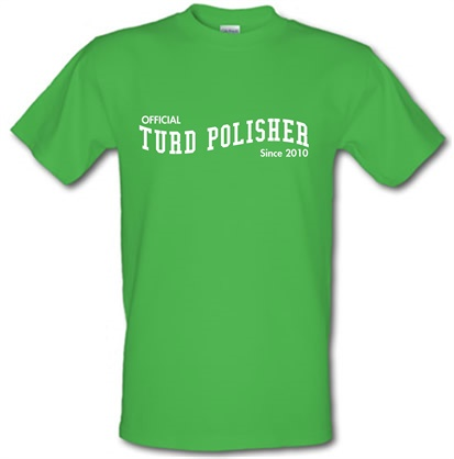 CHEAP Official Turd Polisher male t-shirt. 753599166 – Novelty T-Shirts