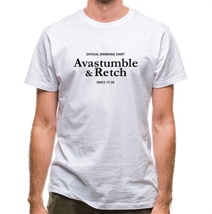 CHEAP Avastumble and Retch – Official Drinking Shirt classic fit. 25414490549 – Novelty T-Shirts