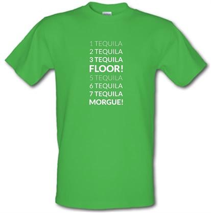 1 Tequila 2 Tequila 3 Tequila Floor. 5 Tequila 6 Tequila 7 Tequila Morgue. male tshirt.