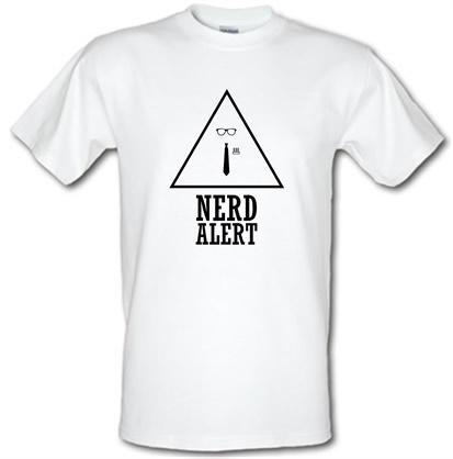 Nerd Alert male t-shirt.
